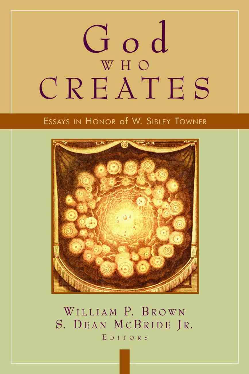 God Who Creates Paperback