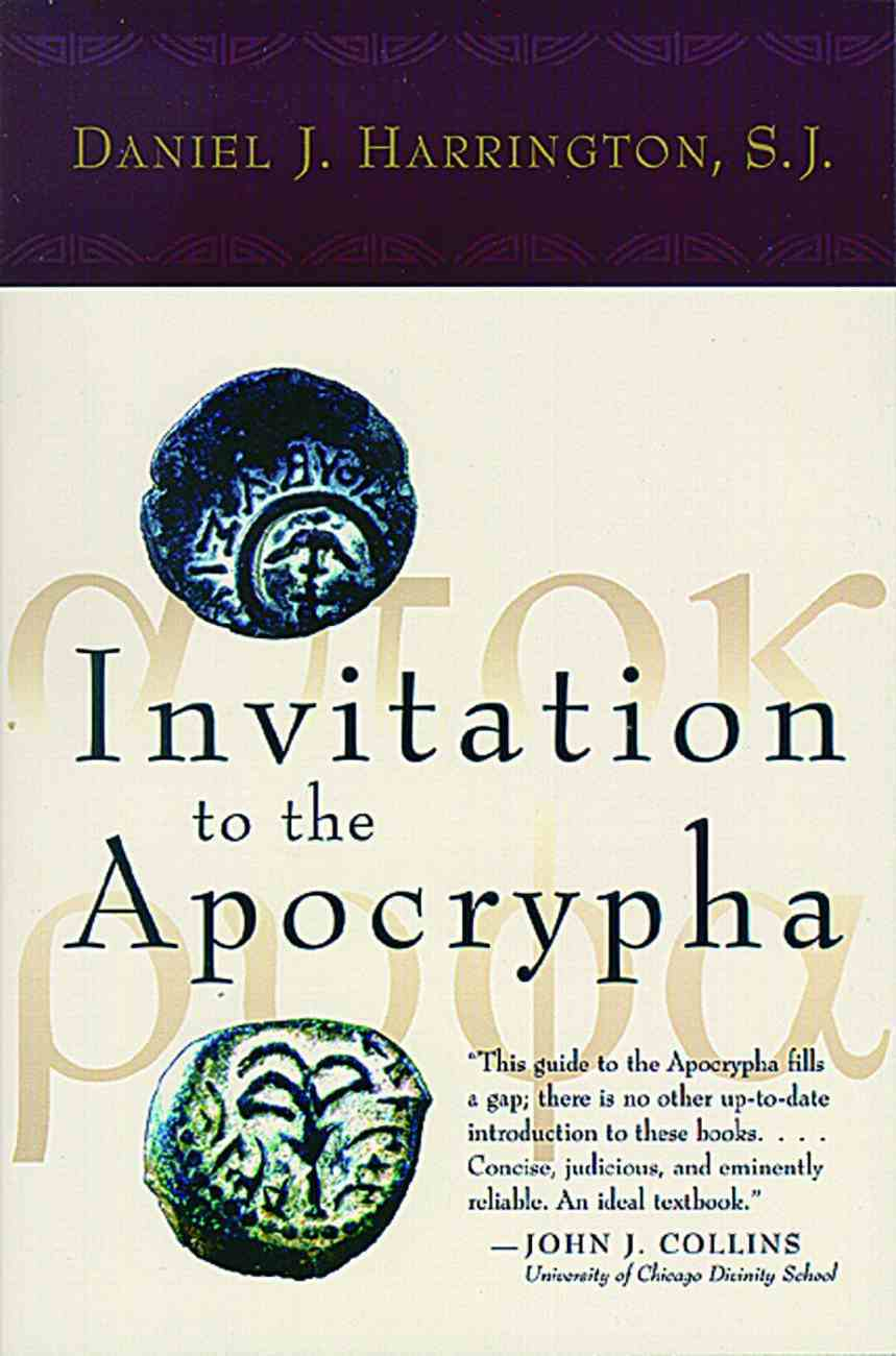 Invitation to the Apocrypha Paperback