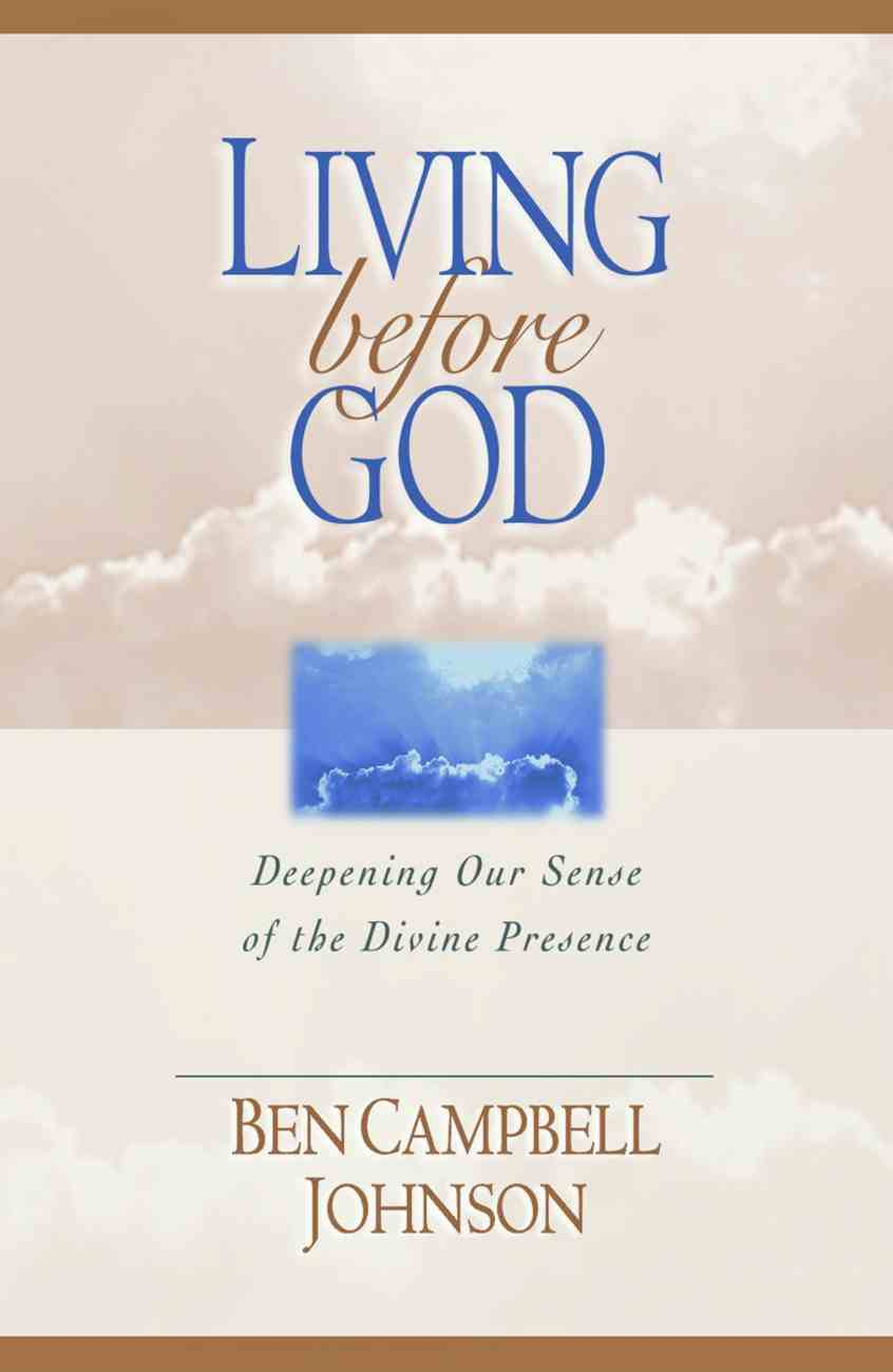 Living Before God Paperback