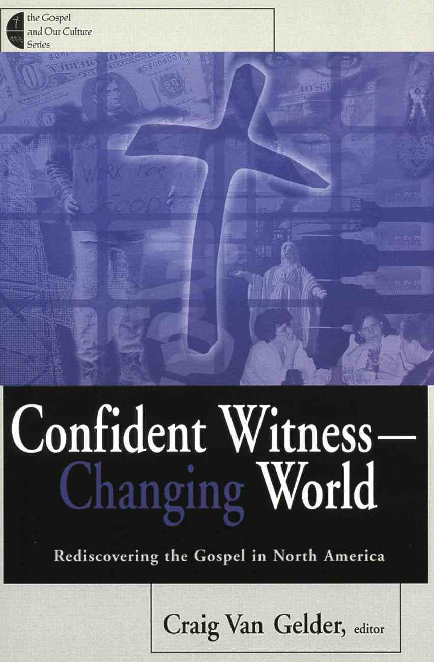 Confident Witness Changing World Paperback