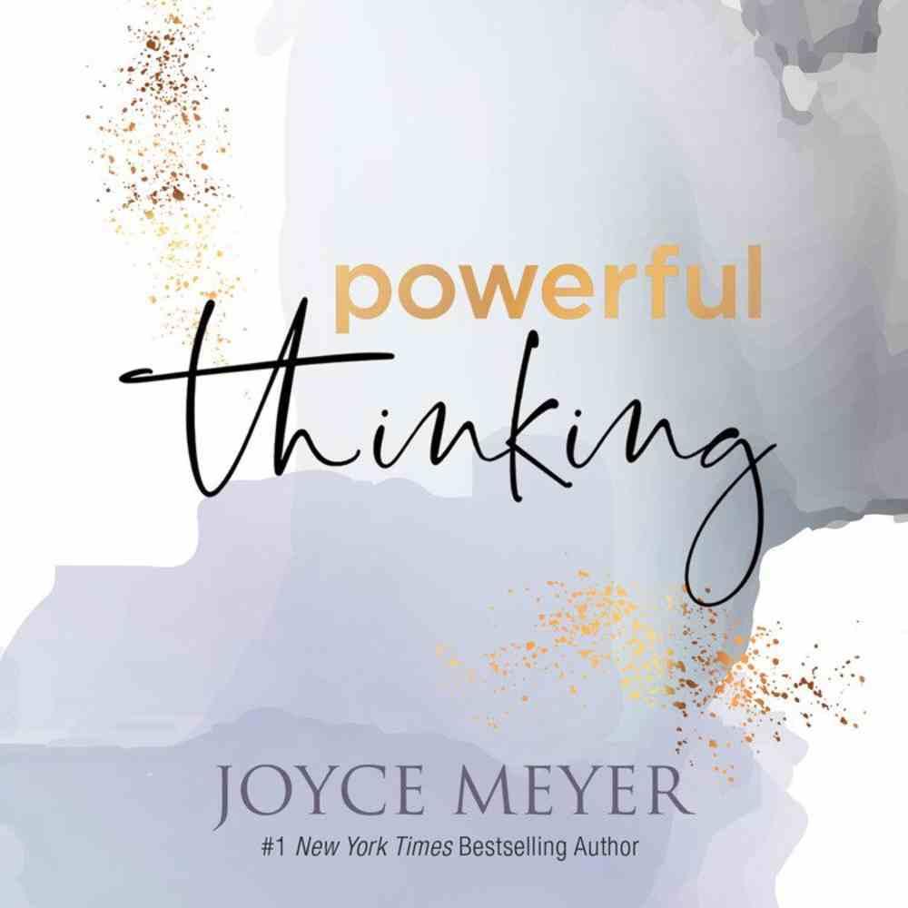 Powerful Thinking (Unabridged, 3 Cds) CD