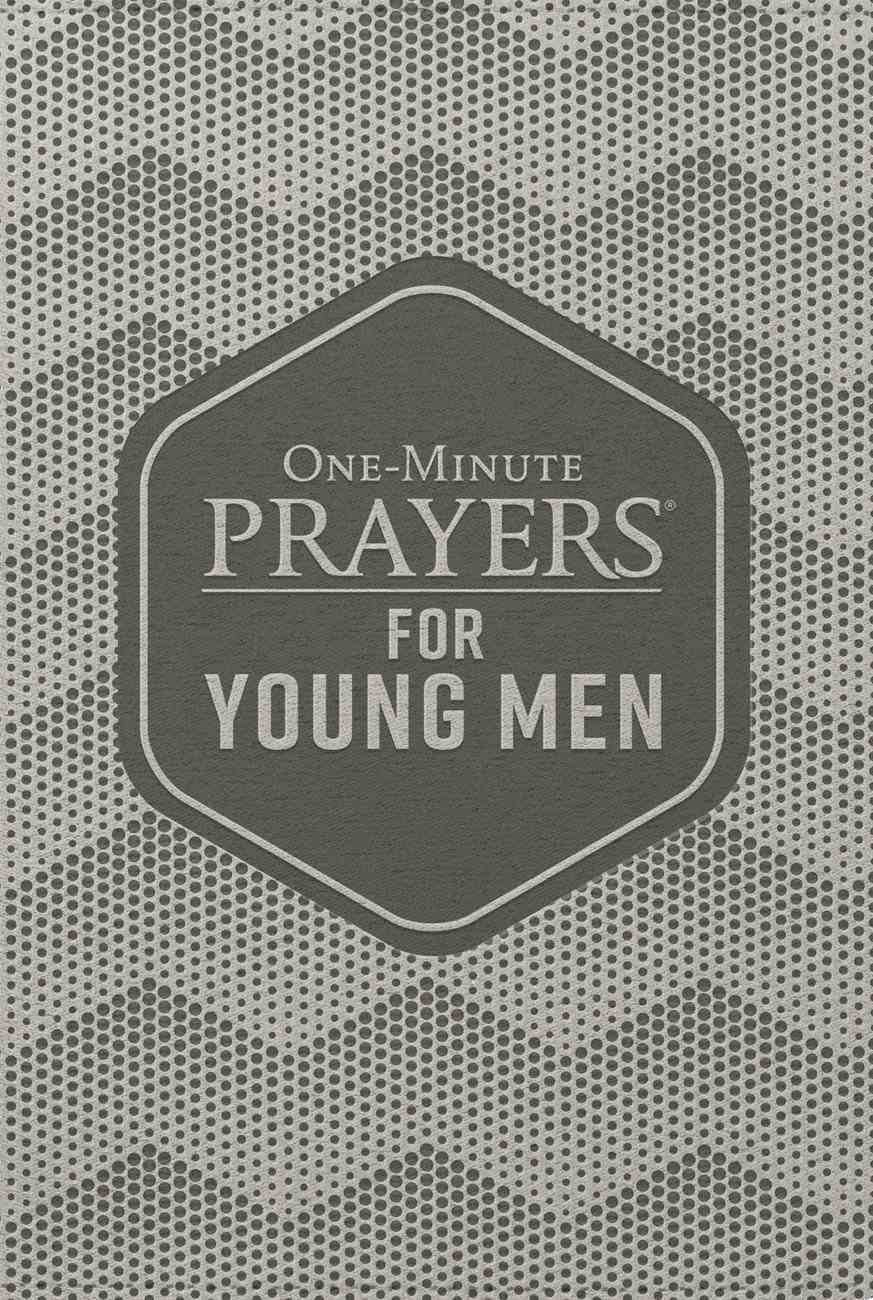 One-Minute Prayers For Young Men (Deluxe Edition) Imitation Leather