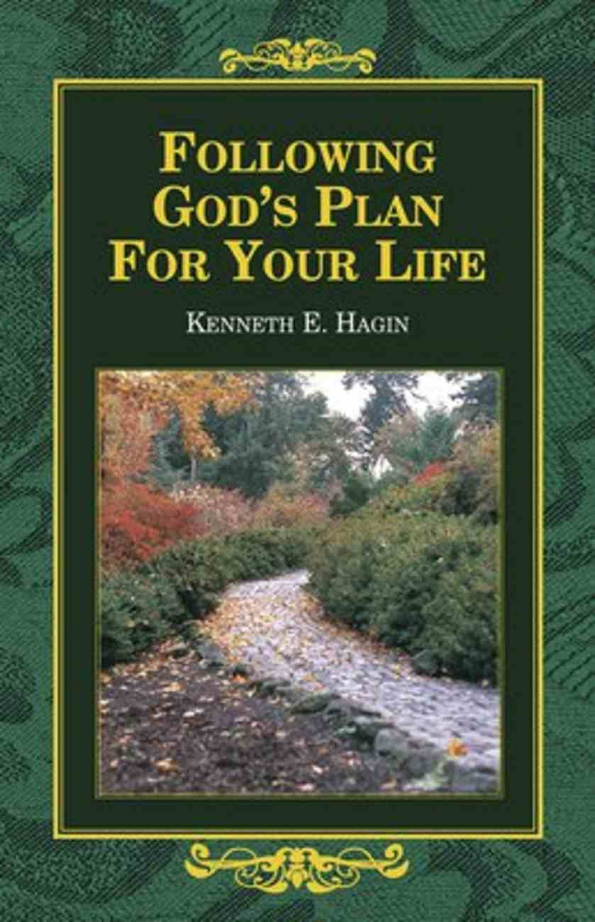 Following God's Plan For Your Life Paperback