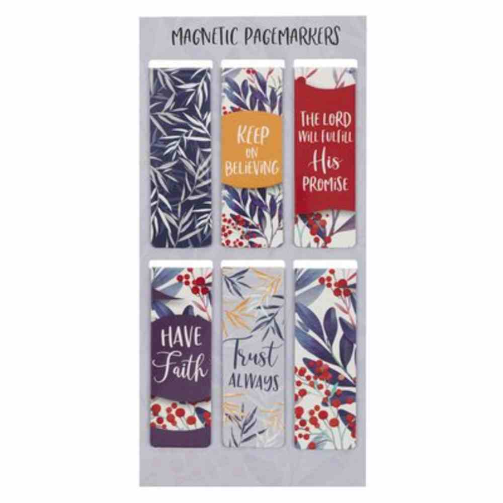 Bookmark Magnetic: Trust Always (Set Of 6) Stationery