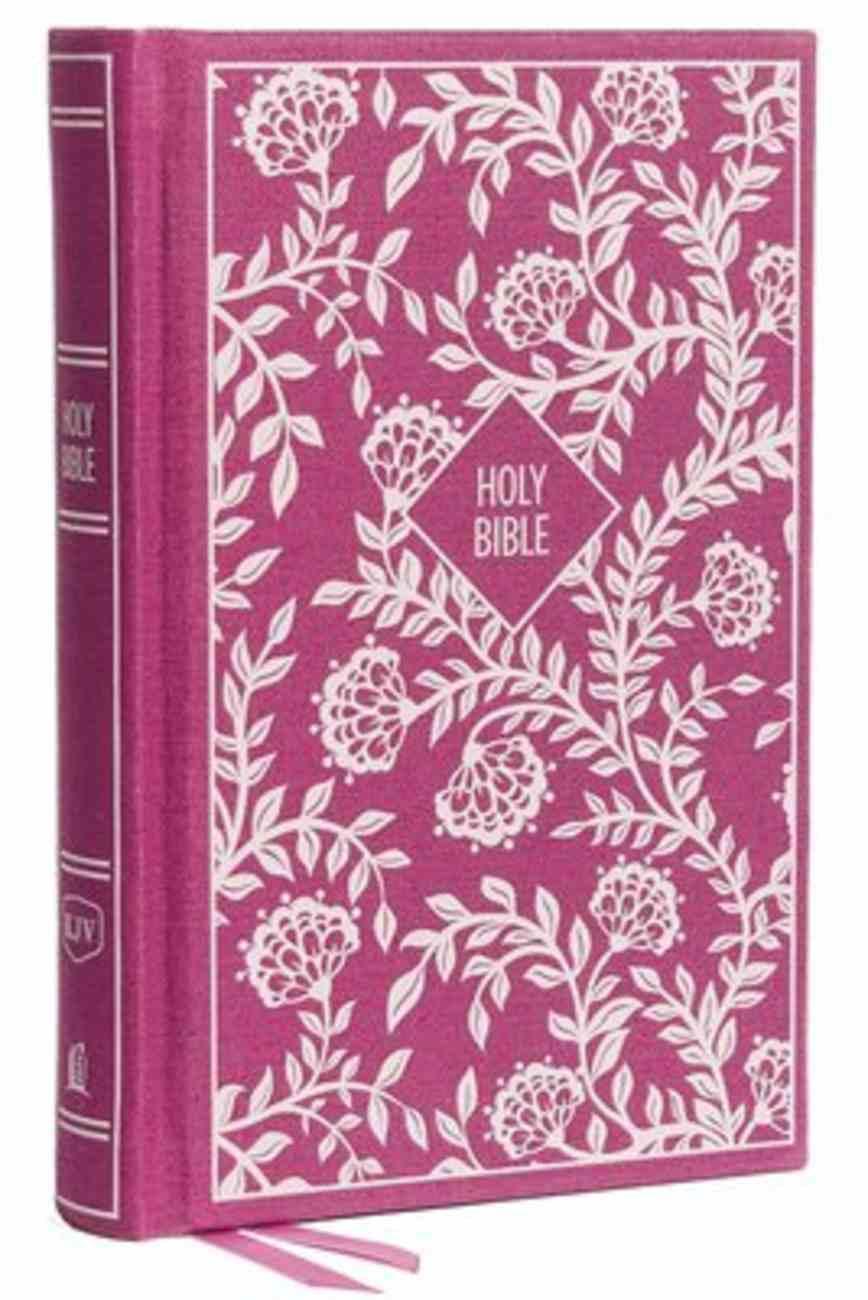KJV Thinline Bible Compact Purple (Red Letter Edition) Hardback