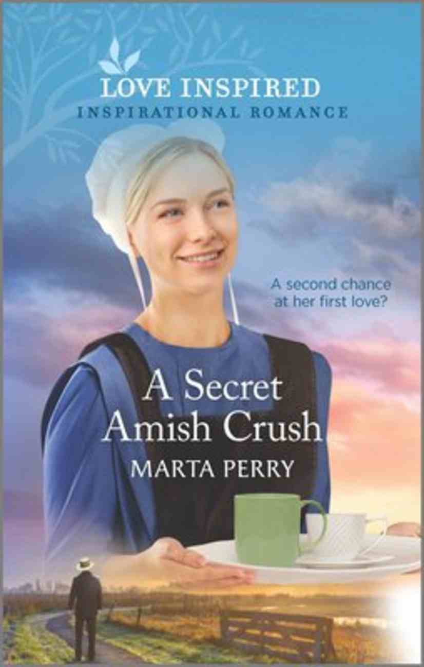 A Secret Amish Crush (Brides of Lost Creek) (Love Inspired Series) Mass Market