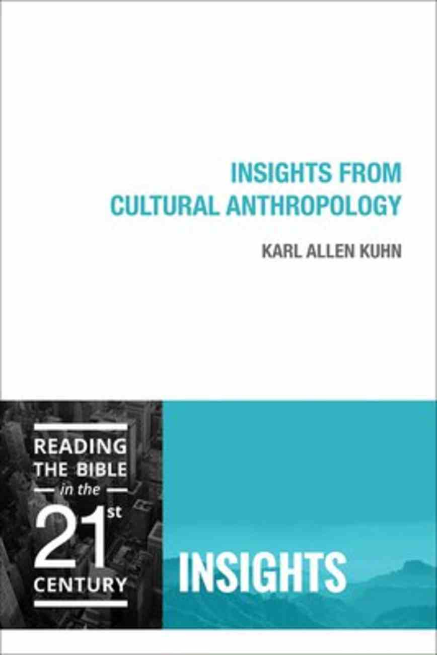 Insights From Cultural Anthropology (Insights Series) Paperback