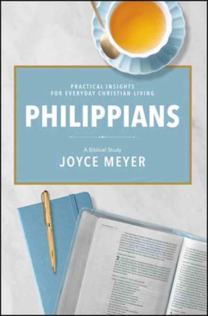 Philippians: A Biblical Study (Deeper Life Biblical Study Series) Hardback