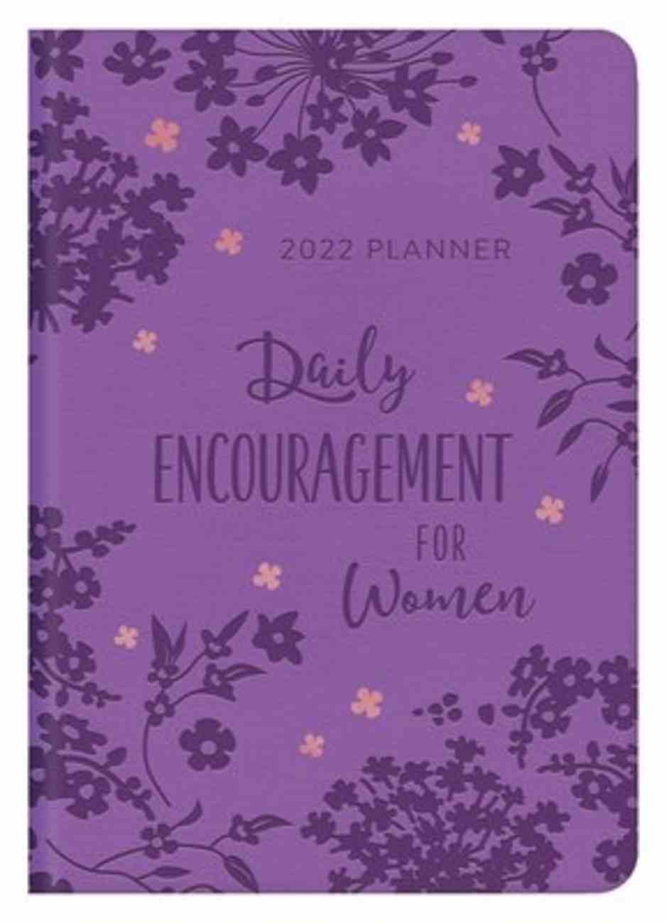 2021-2022 17-Month Diary/Planner: Daily Encouragement For Women Paperback