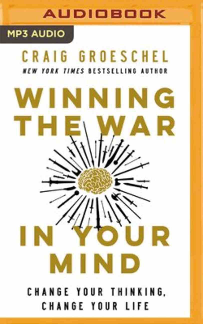 Winning the War in Your Mind: Change Your Thinking, Change Your Life (Unabridged Mp3) CD