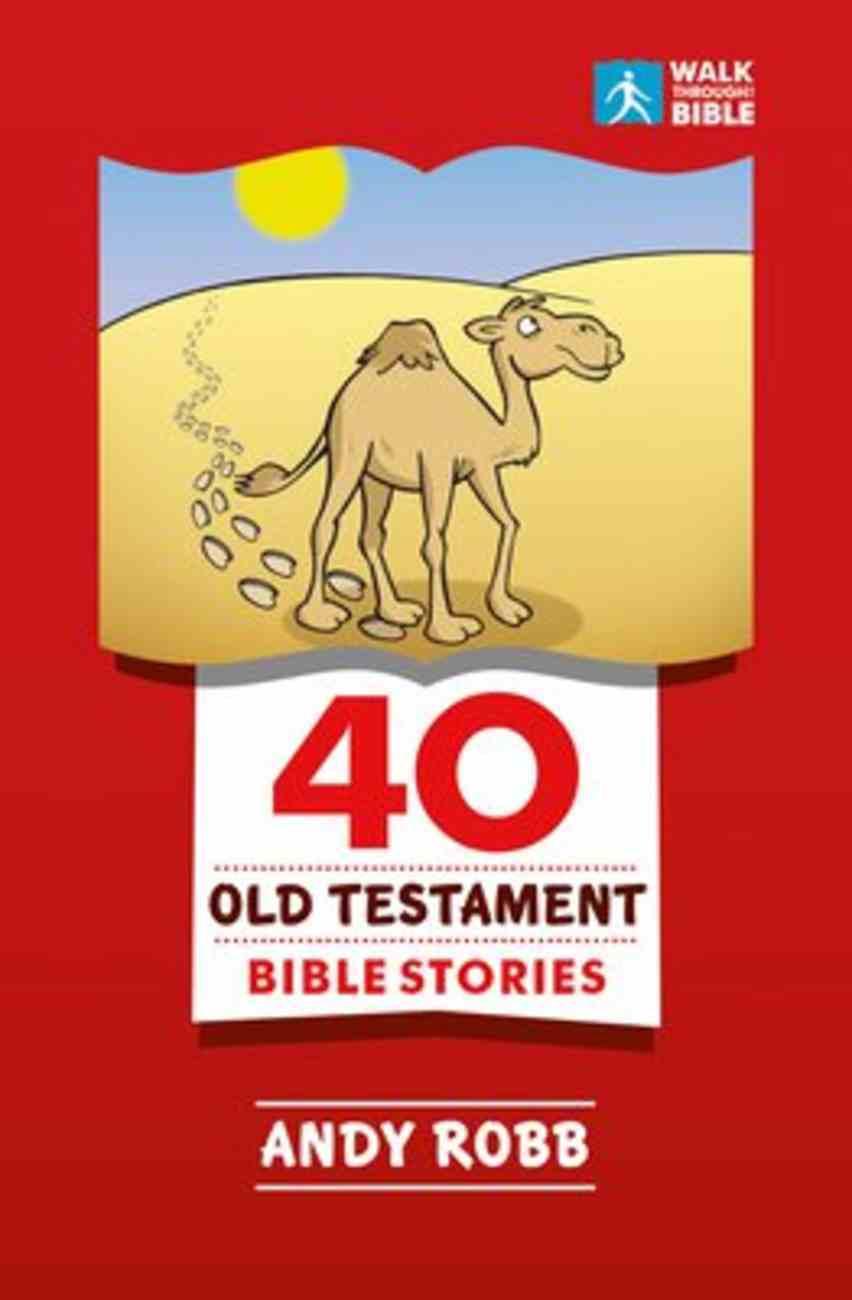40 Old Testament Bible Stories Paperback