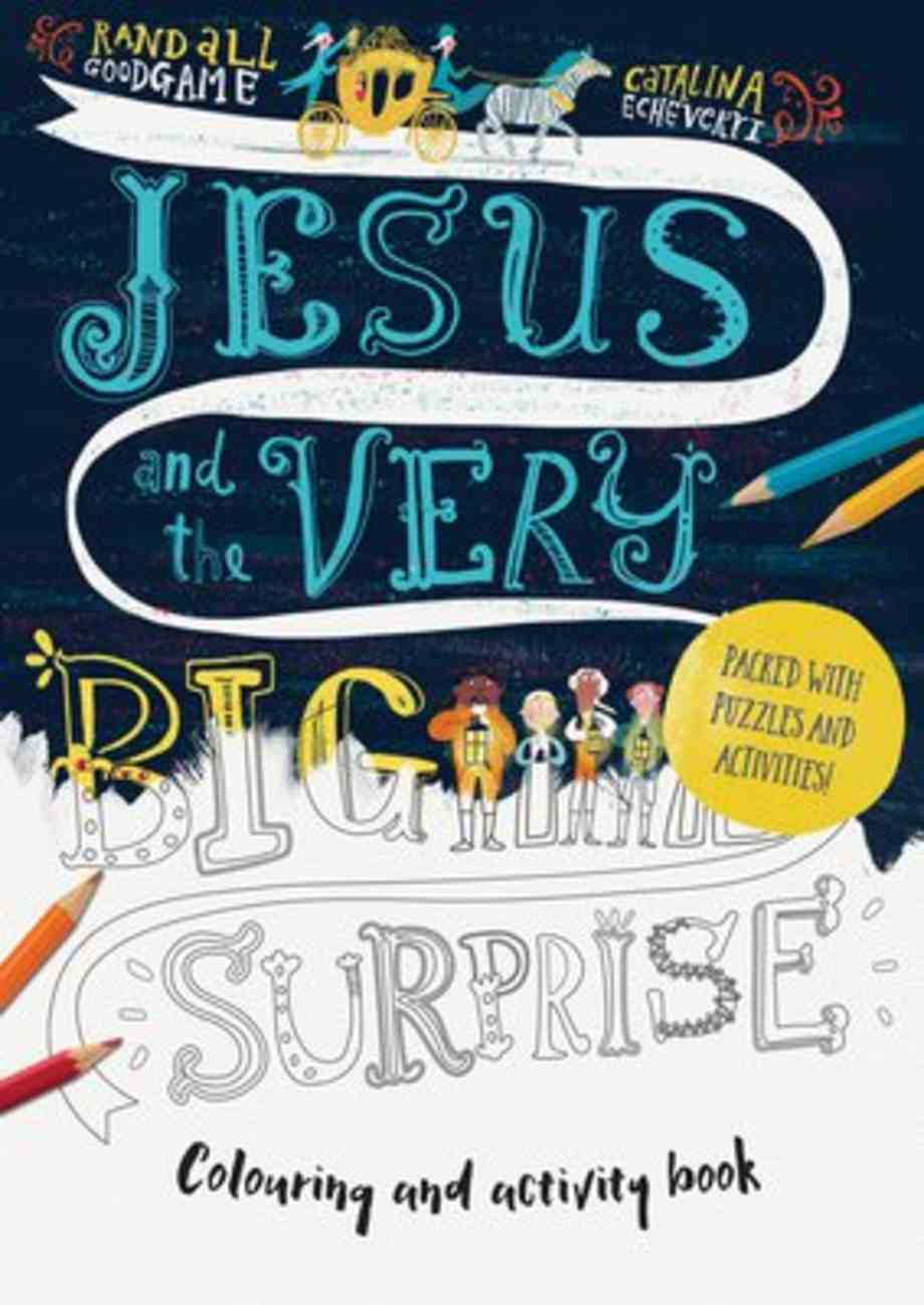 Jesus and the Very Big Surprise Activity Book Paperback
