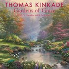 2022 Thomas Kinkade Wall Calendar: Gardens of Grace With Scripture Calendar