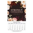2022 Mini Magnetic Calendar: Strong & Courageous Calendar