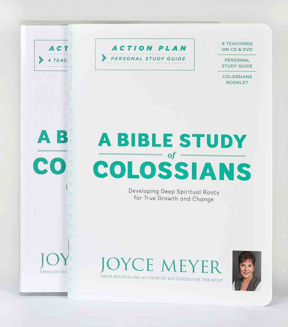 A Bible Study of Colossians Action Plan (Kit Includes 4 Sessions -cd And Dvd- Study Guide, Colossians Booklet Amp) Pack