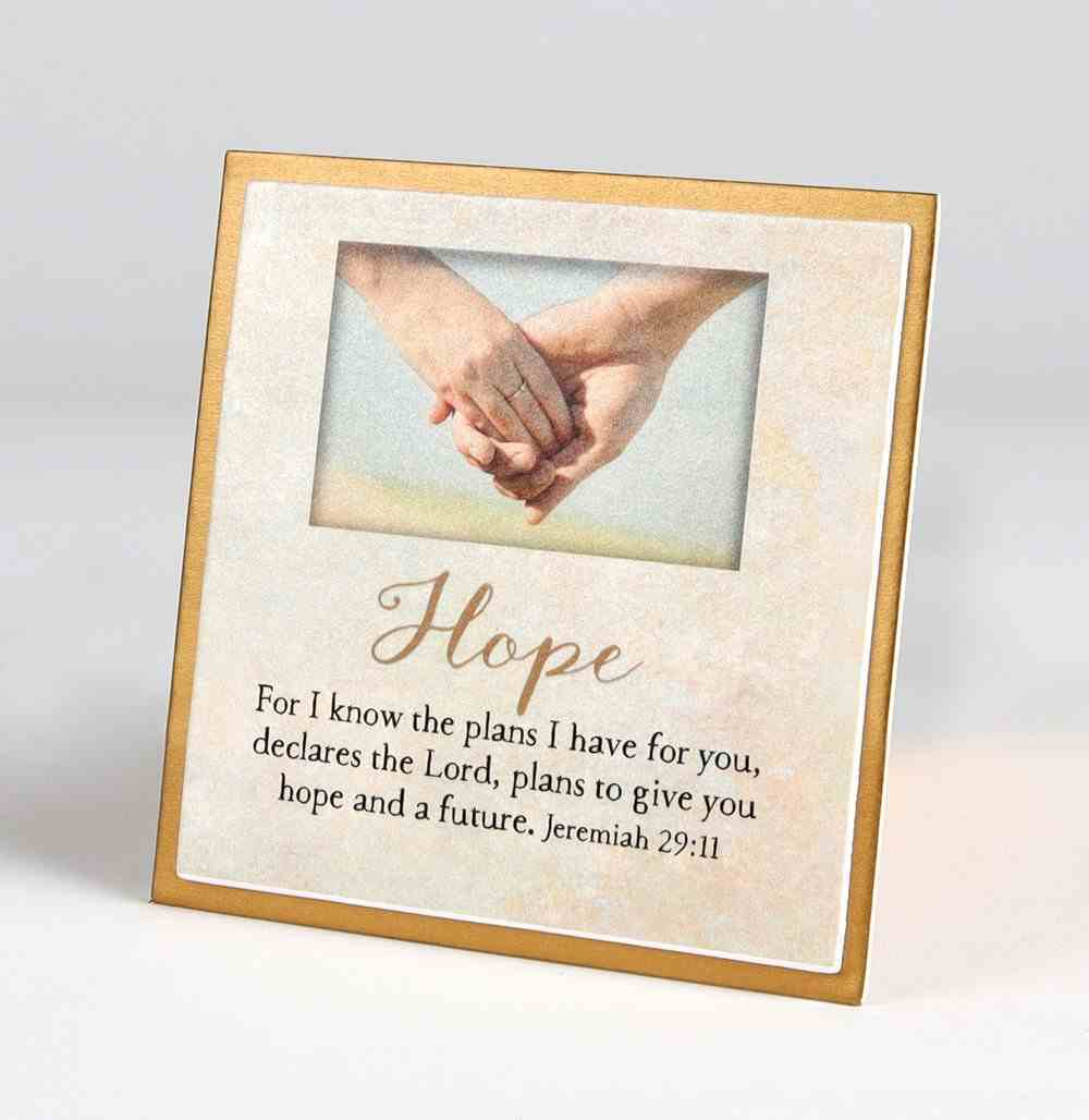 Touching Thoughts Magnet: Hope... For I Know the Plans I Have For You (Jeremiah 29:11) Novelty