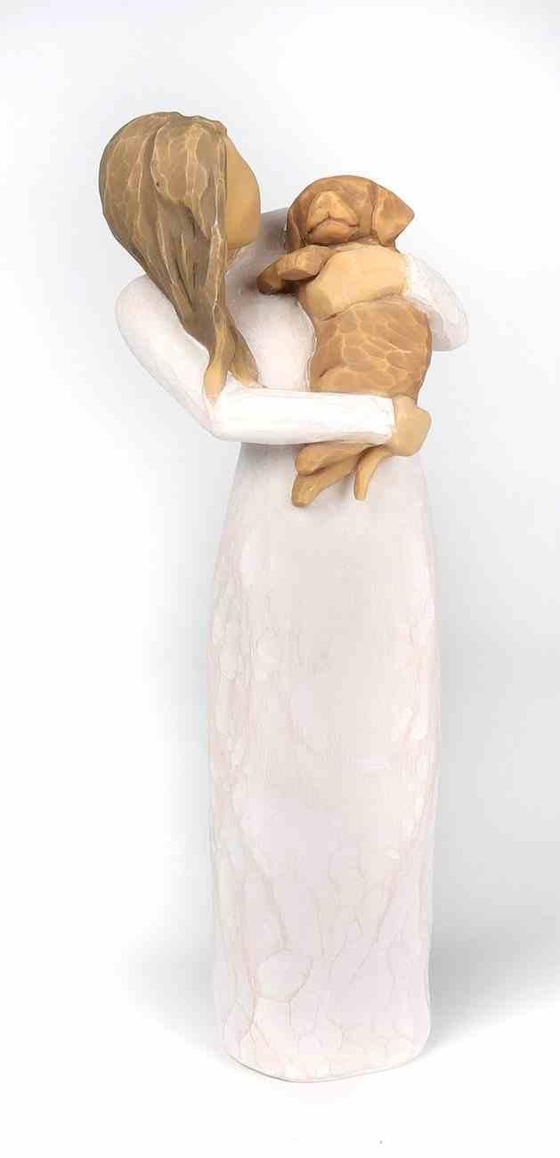 Willow Tree Figurine: Adorable You, Golden Dog, a Joyful Friendship Homeware