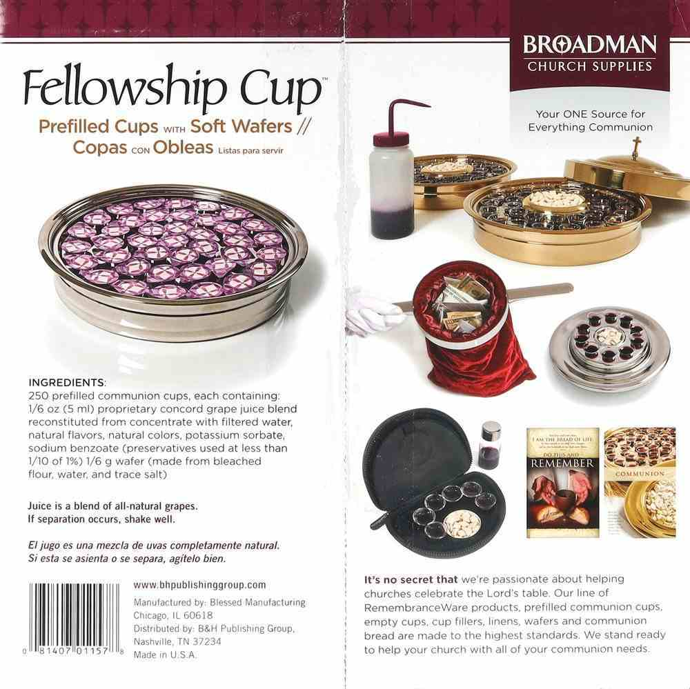 Communion: Fellowship Cup, the (Use By Date is in American Format Mm/Dd/Yyyy) (Box Of 250) Box