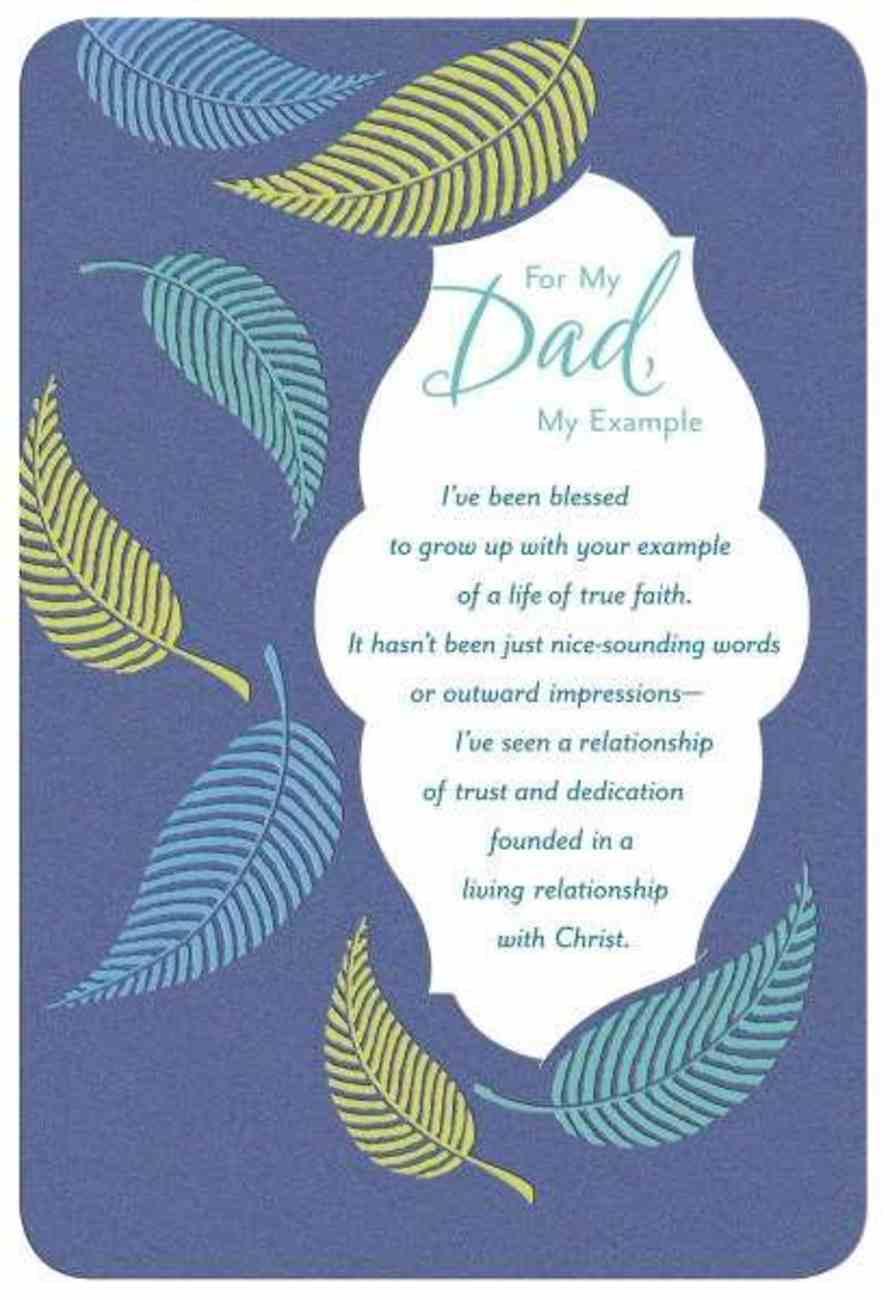 For My Dad (Prov 17: 6 Nkjv) Cards