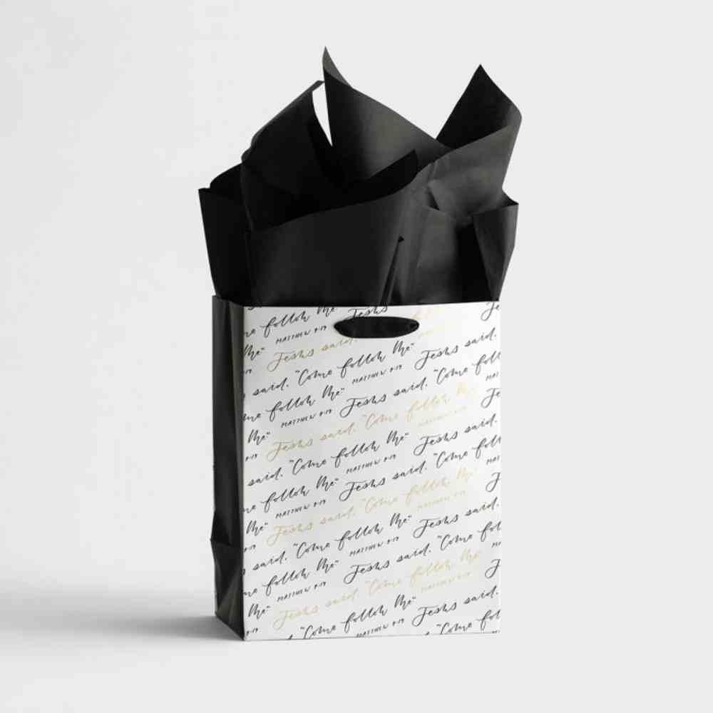 Gift Bag Medium: Come Follow Me (Matt 4:19 Ncv) Stationery