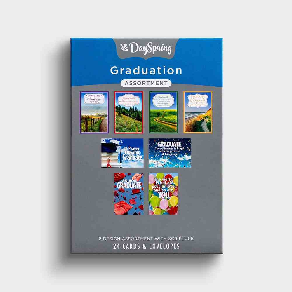 Boxed Cards Graduation: 24 Assorted Box
