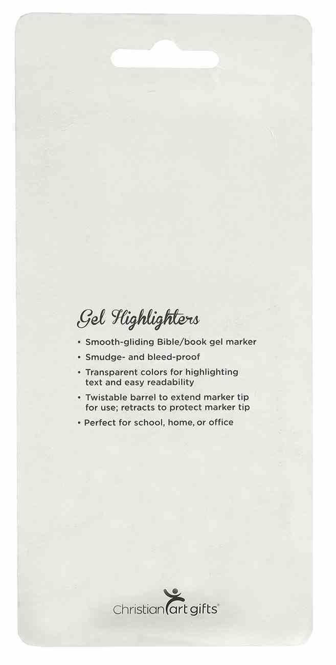 Pen: Twist & Glide Highlighter (Set Of 4) Pack