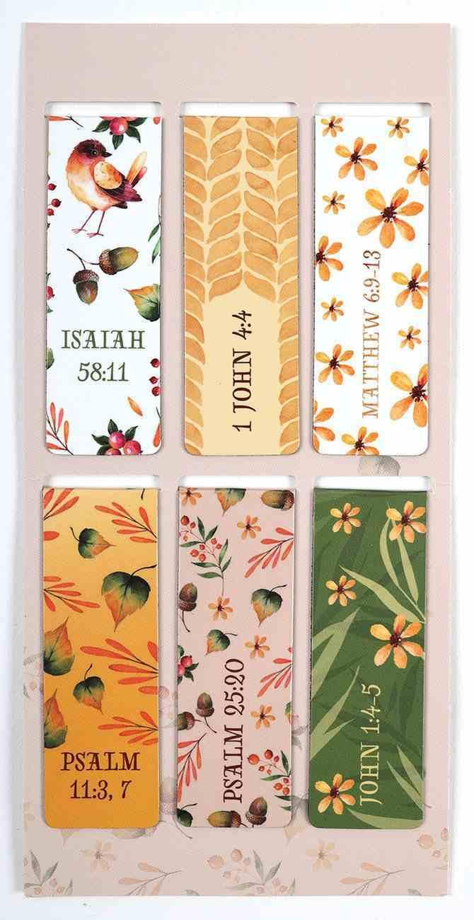 Bookmark Magnetic: God is My Refuge (Set Of 6) Stationery