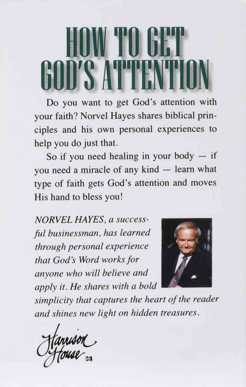 How to Get God's Attention Booklet