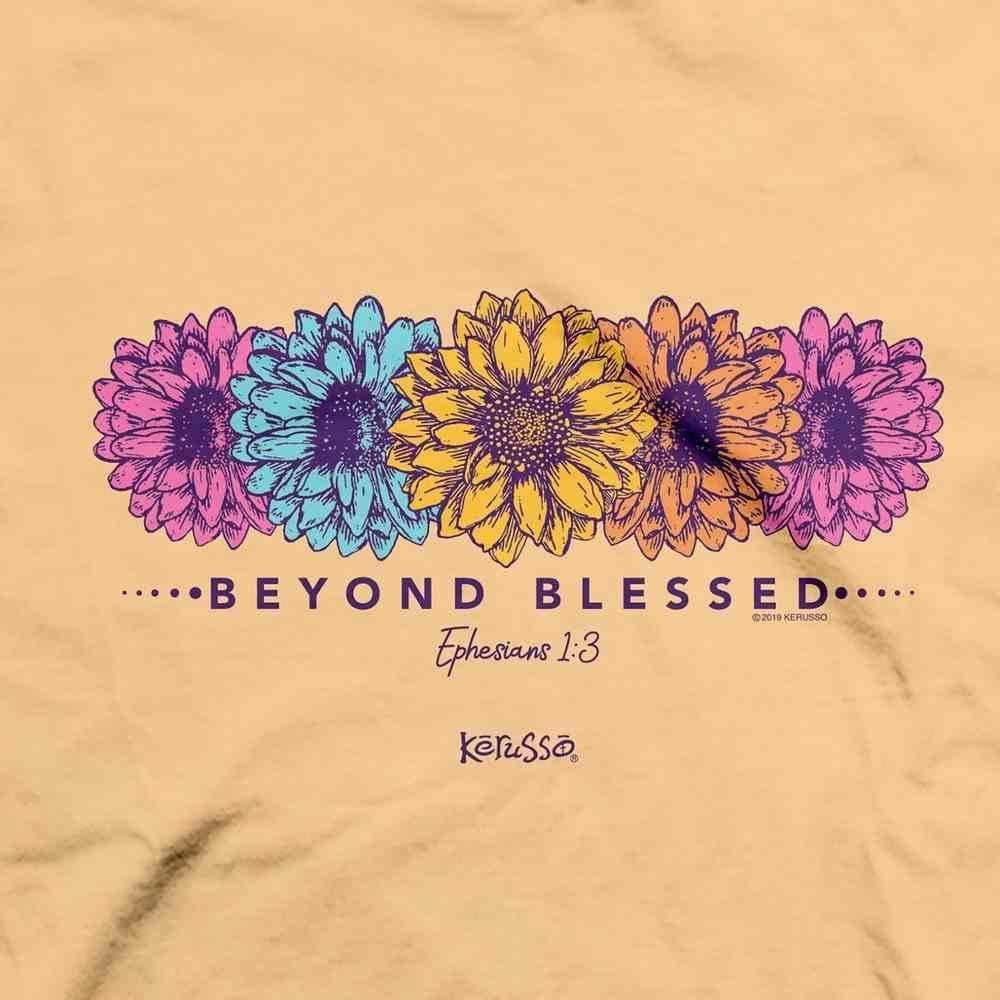 T-Shirt: Blessed Daisies, 4xlarge, Yellow Haze Soft Goods