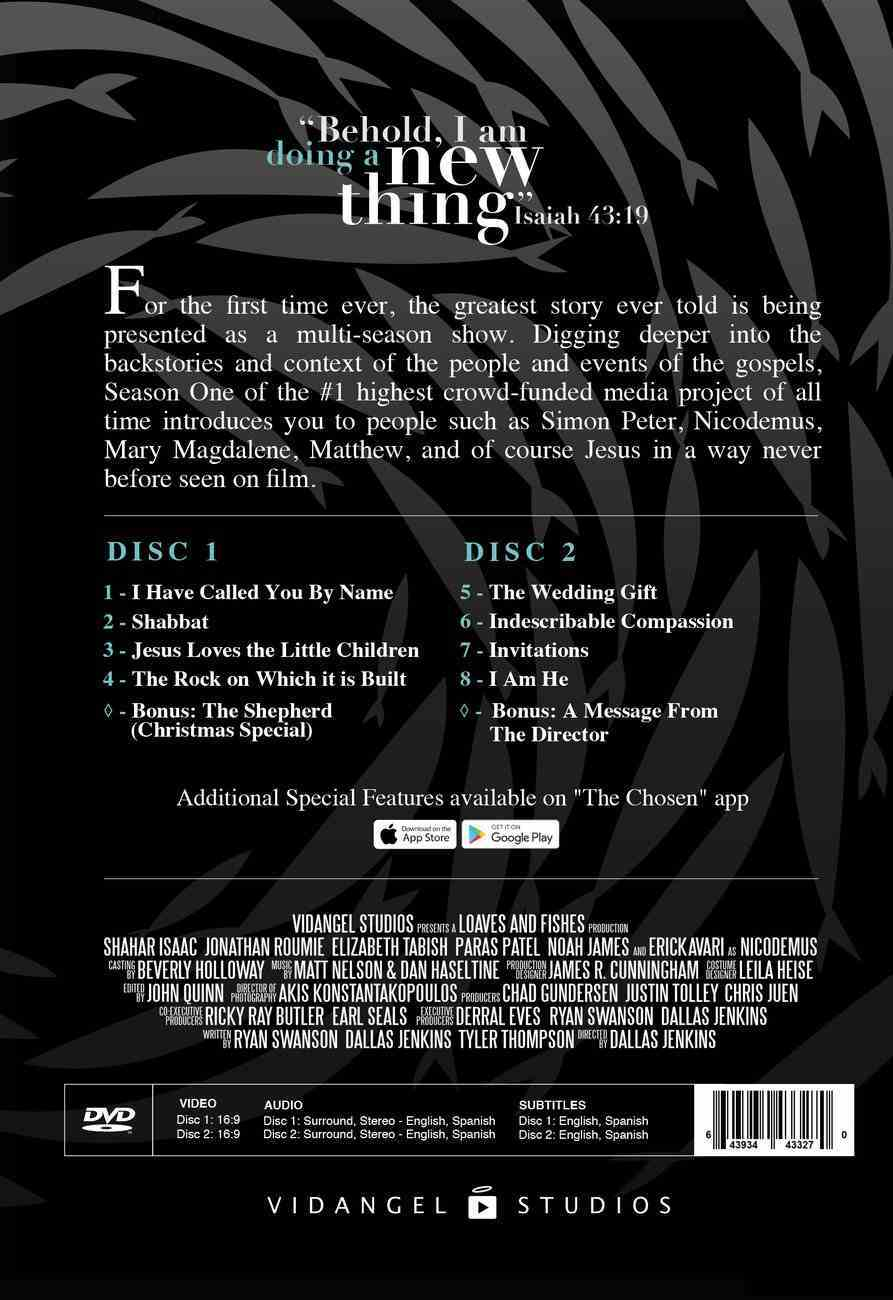 The Chosen: Season 1 (2 DVDS) (The Chosen Series) DVD