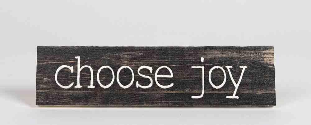 Tabletop Decor: Choose Joy Homeware