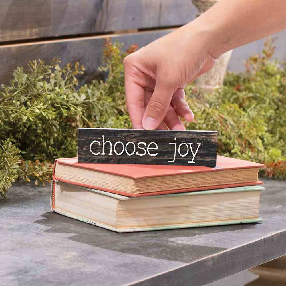 Tabletop Decor: Choose Joy (Pine) Homeware