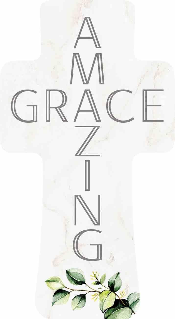 Cross: Amazing Grace (Pine) Homeware