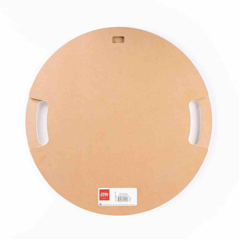 Tray With Cutout Handles: Give Us This Day Our Daily Bread, Lavender Sprigs (Mdf) Homeware