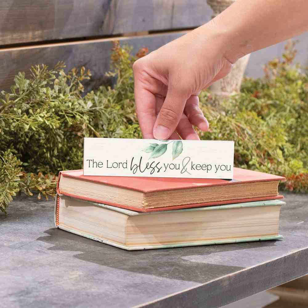Tabletop Decor : The Lord Bless You & Keep You (Pine) (Vintage Praise Series) Homeware