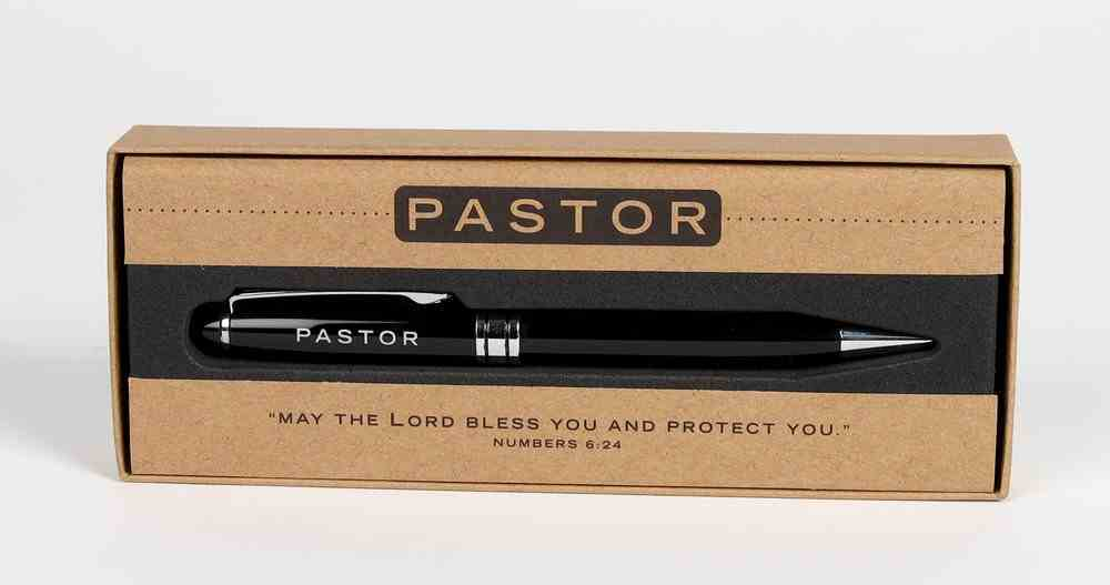 Metal Pen, Pastor Black (Numbers 6: 24) (Simply Yours Collection) Stationery