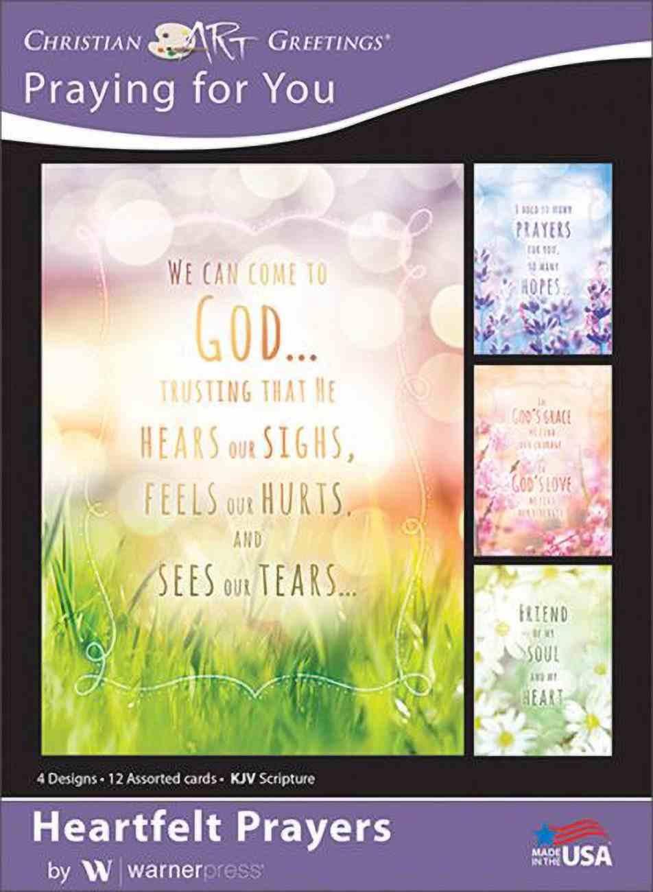 Boxed Cards: Praying For You - Heartfelt Prayers (Kjv) Box