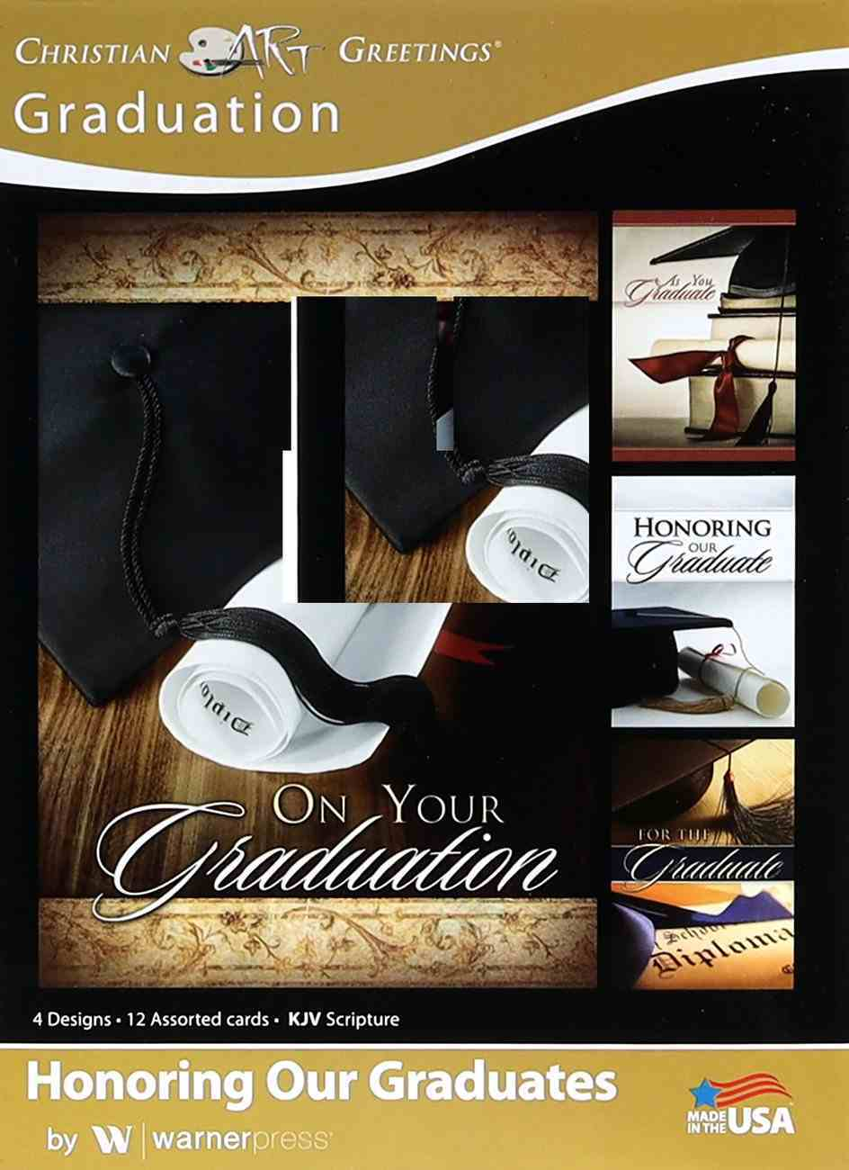 Boxed Cards: Graduation - Honoring Our Graduates (Kjv) Box