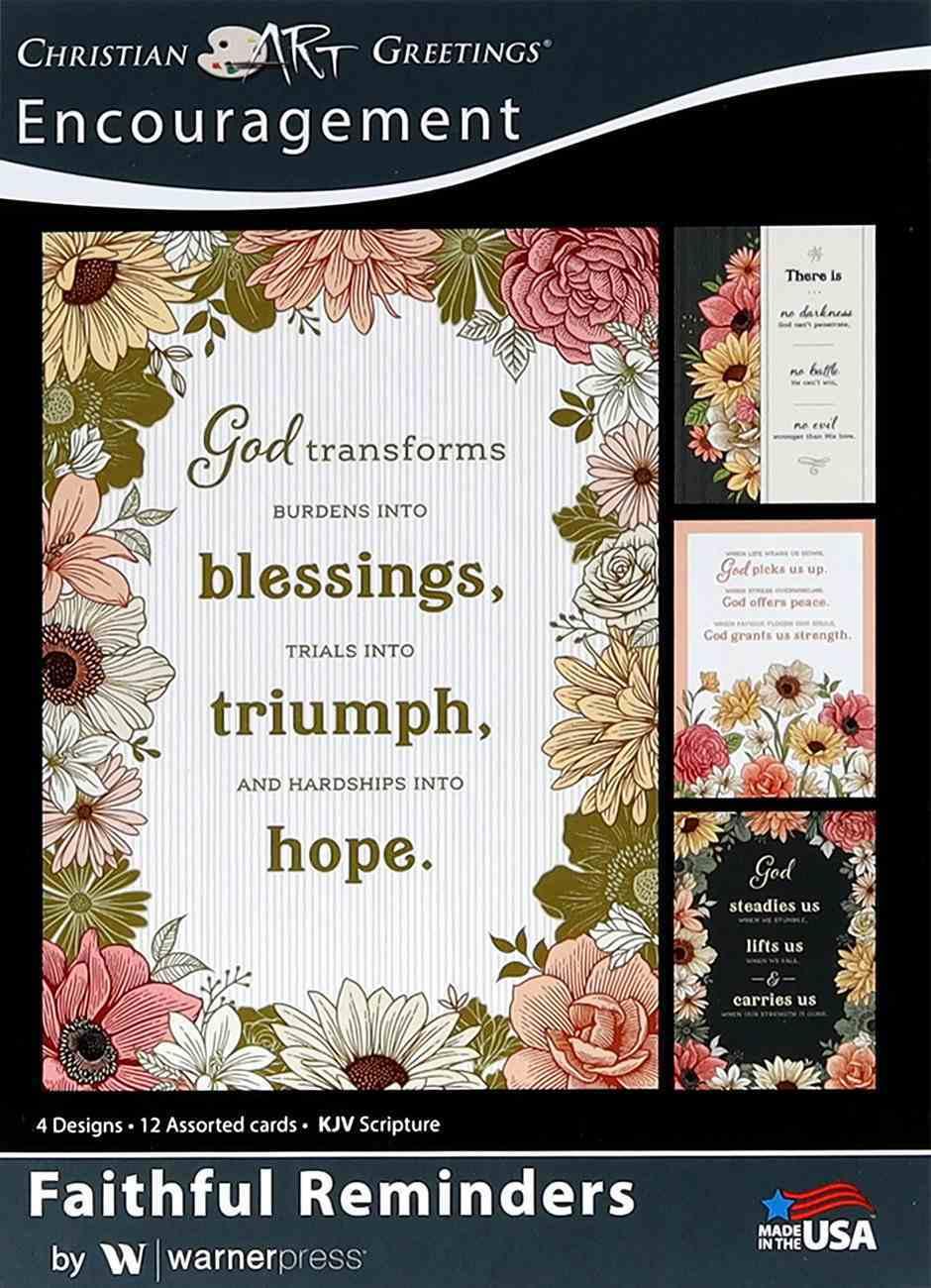 Boxed Cards: Encouragement - Faithful Reminders Box