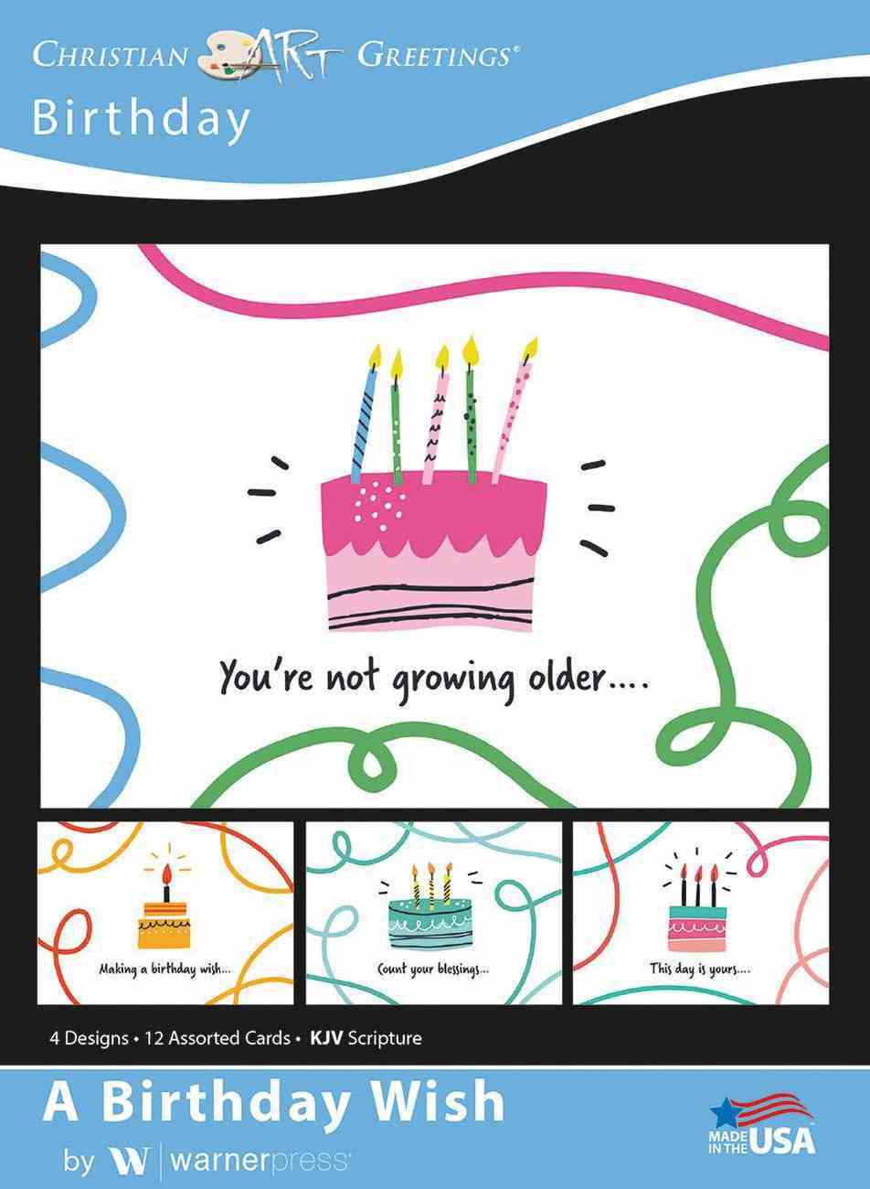 Boxed Cards: Birthday, a Birthday Wish Box