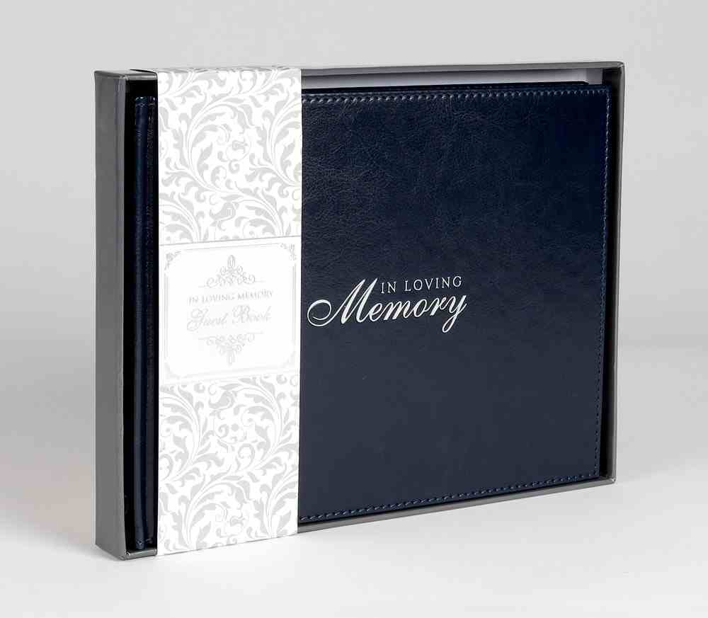 Guest Book: In Loving Memory Imitation Leather
