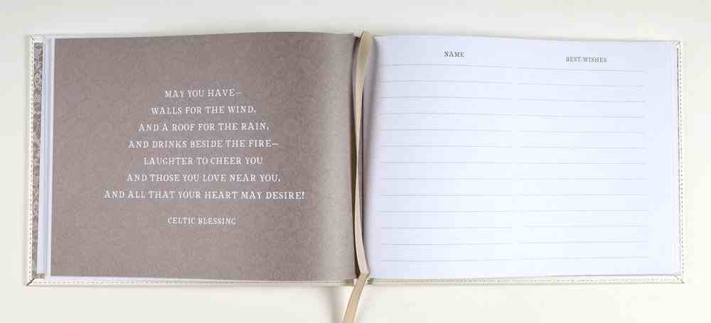 Guest Book: Mr & Mrs Imitation Leather