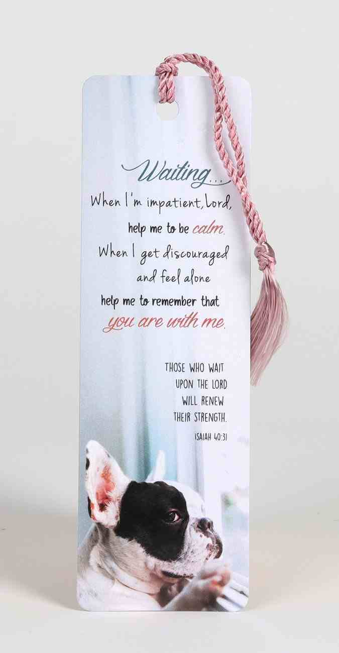 Bookmark With Tassel: Waiting Stationery