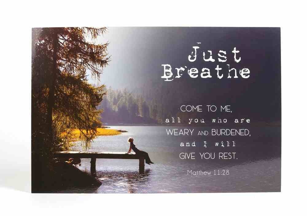 Poster Small: Just Breathe Poster