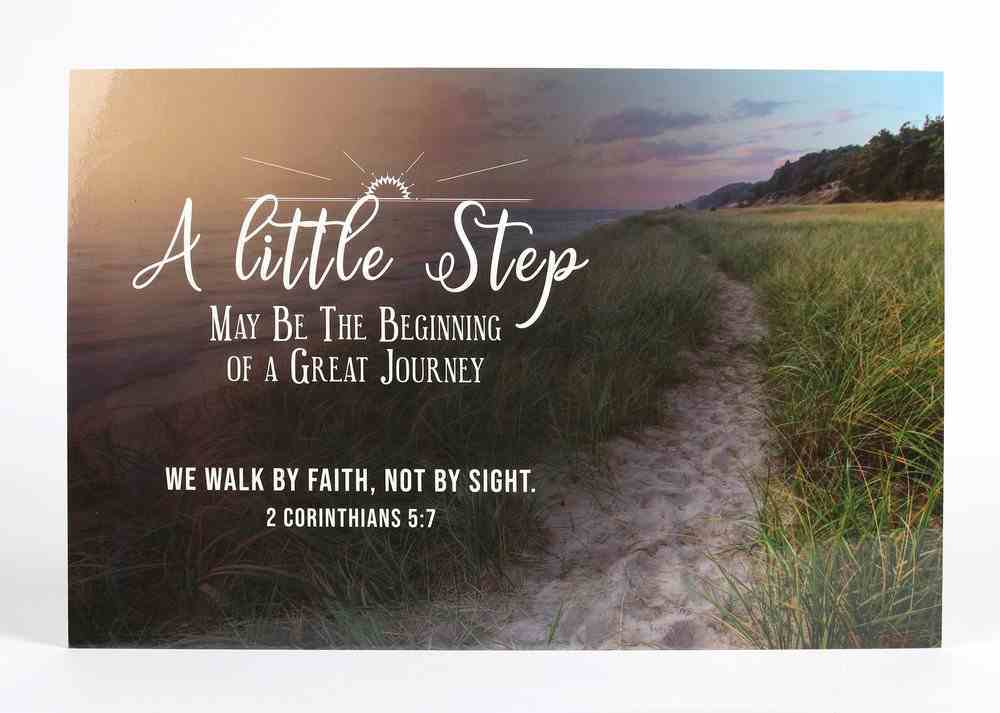 Poster Small: A Little Step Poster