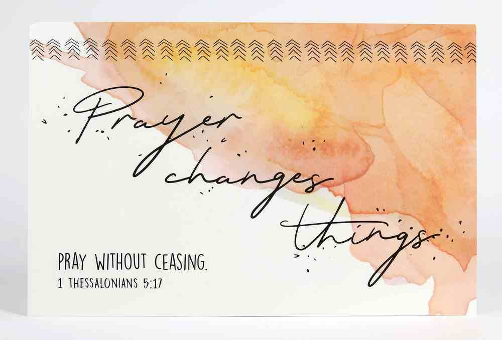 Poster Small: Prayer Changes Things Poster