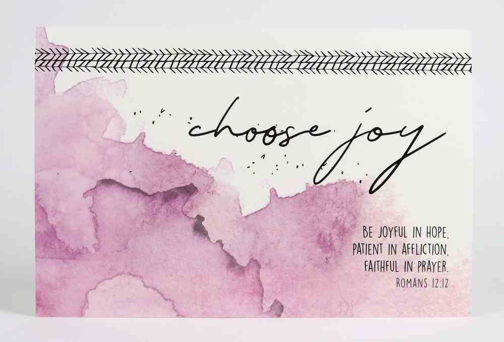 Poster Small: Choose Joy Poster