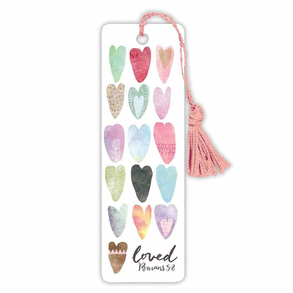 Bookmark With Tassel: Loved Stationery