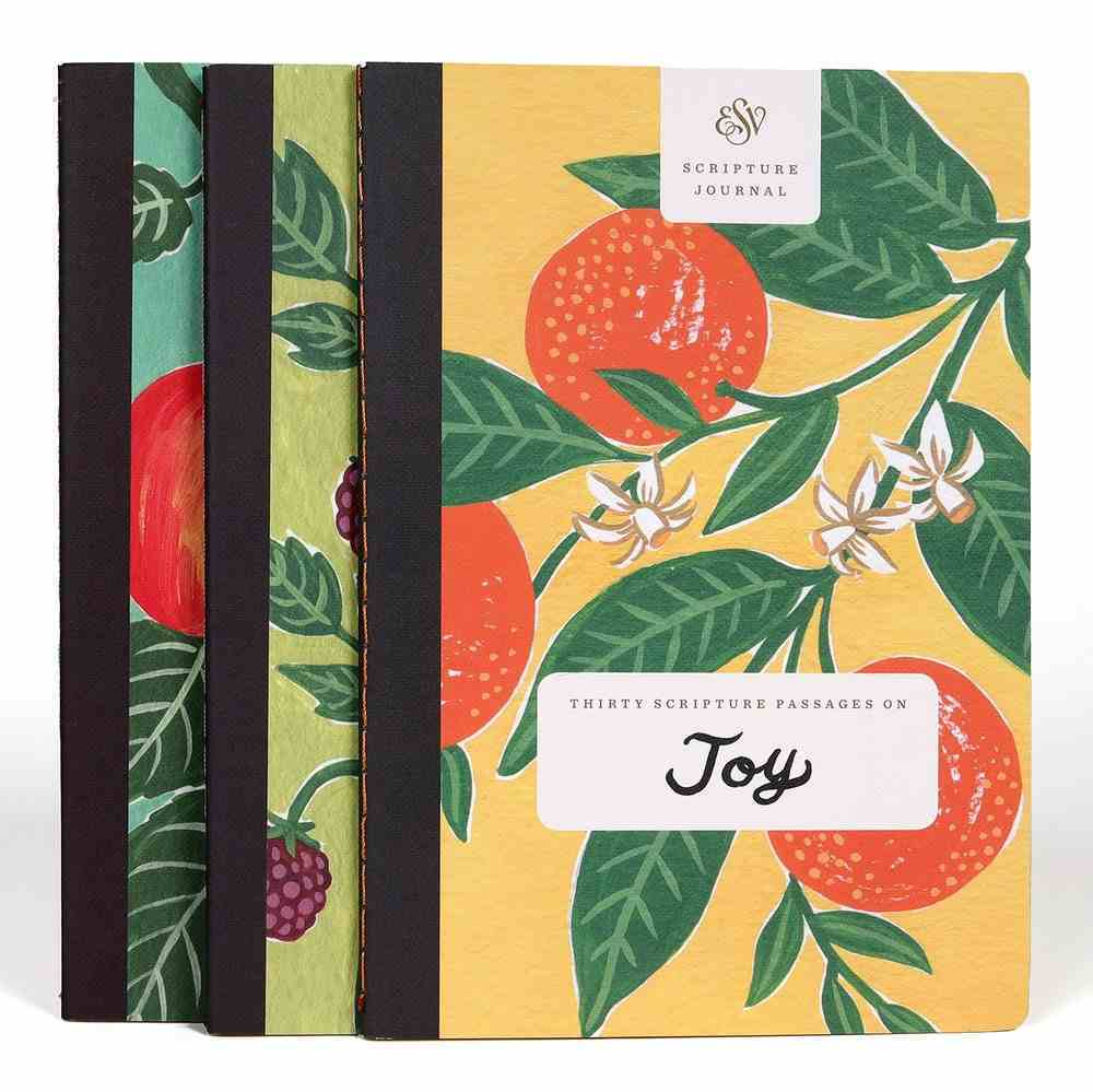 ESV Scripture Journal 3 Pack- Love, Joy & Peace Paperback