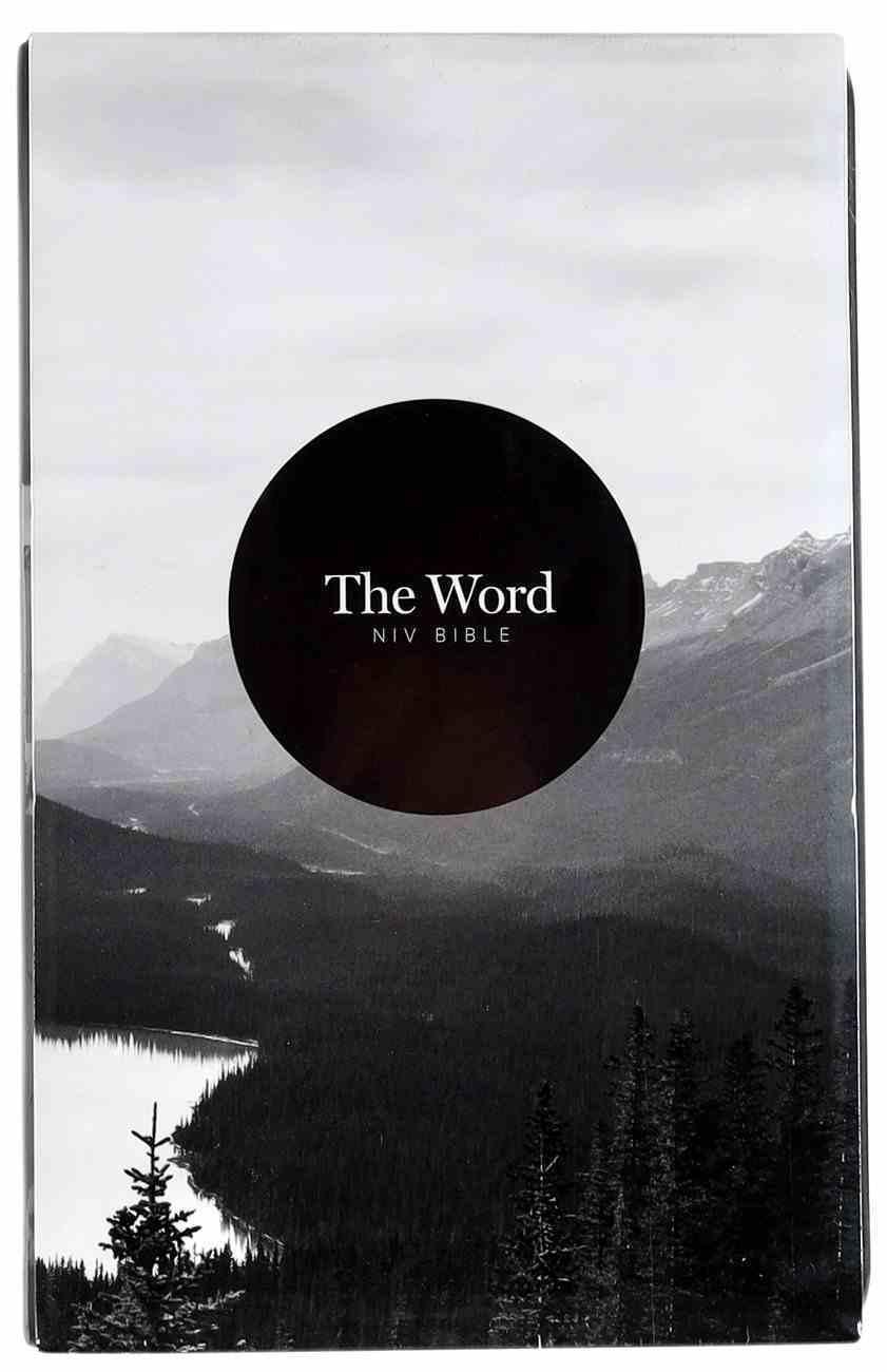 NIV the Word Bible Charcoal Grey Imitation Leather